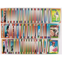 1990 Topps Complete Set of (792) Baseball Cards