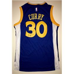 Stephen Curry Signed Warriors Jersey (JSA ALOA)