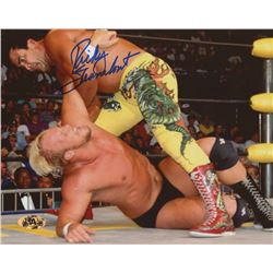 Ricky Steamboat Signed 8x10 Photo (MAB Hologram)