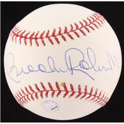 Brooks Robinson Signed OML Baseball (Fanatics Hologram  MLB Hologram)