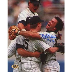 "Matt Nokes Signed Yankees 8x10 Photo Inscribed ""9-4-93"" (MAB Hologram)"