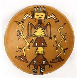 Navajo Pottery Bowl by Ateed Tset