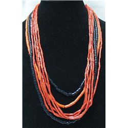 3 Navajo Heishi Trade Bead Necklaces