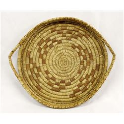 Vintage Tohono O'odham Basketry Tray