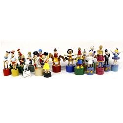 Collection of Vintage Push Puppets