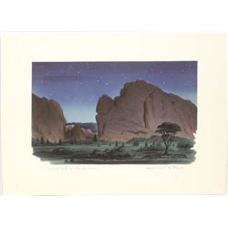 Original Lithograph by Lawrence B. Field