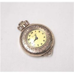 Antique Ladies Gold Plated Watch Pendant