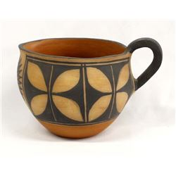 Santo Domingo Pottery Pitcher by Helen Reano