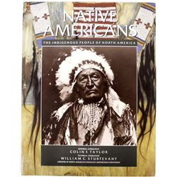 Native Americans by Colin F. Taylor, Softback Book