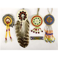 Plains Indian and Navajo Hair Ties & Barrettes