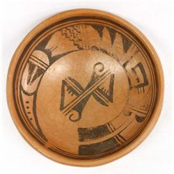 Native American Hopi Pottery Bowl by Annette Silas