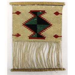 Antique Native American Navajo Wool Textile