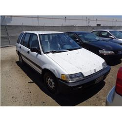 HONDA CIVIC 1991 T-DONATION