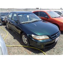 HONDA ACCORD 2000 L/S-DONATION