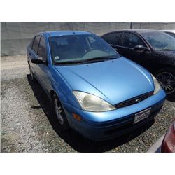 FORD FOCUS 2001 L/S-DONATION