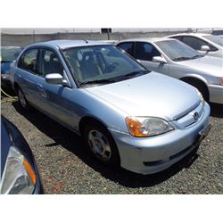 HONDA CIVIC 2003 T-DONATION