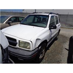 CHEVROLET TRACKER 2002 T-DONATION