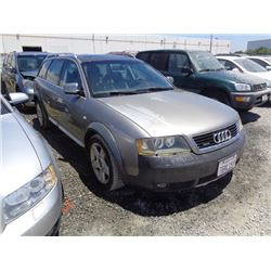 AUDI A4 2003 SALV T/DONATION
