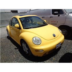 VW NEW BEETLE 2000 T-DONATION