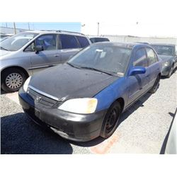 HONDA CIVIC 2002 T