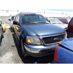 FORD EXPEDITION 2001 T-DONATION