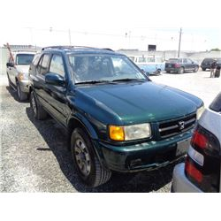 HONDA PASSPORT 1998 T-DONATION
