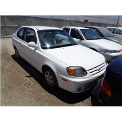 HYUNDAI ACCENT 2004 T-DONATION