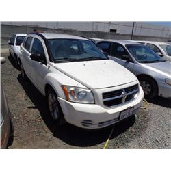 DODGE CALIBER 2010 APP  DUP/T-DON