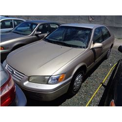 TOYOTA CAMRY 1997 SALV T/DONATION