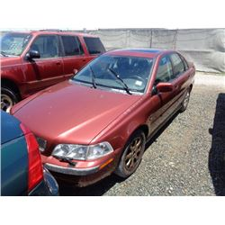 VOLVO S40 2001 O/S T-DONATION