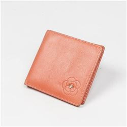 CHANEL Square Flower Wallet