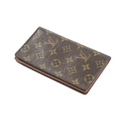 LOUIS VUITTON Bifold Long Card Holder 6 Slot
