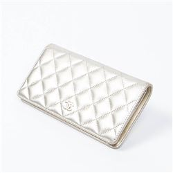 CHANEL Bifold Long Wallet