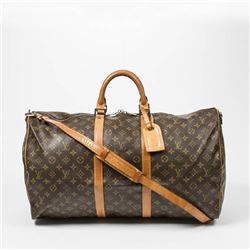 LOUIS VUITTON Keepall Bandouliere 55cm