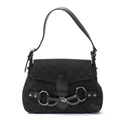 GUCCI Horsebit Satchel Bag