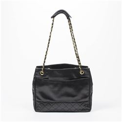 CHANEL Vintage Tote Front Pocket