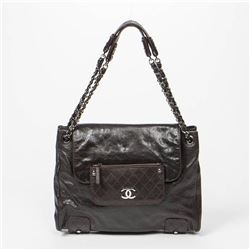 CHANEL Shoulder Bag with Wallet on Flap