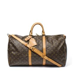 LOUIS VUITTON Keepall Bandouliere 55 CM