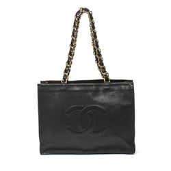 CHANEL Large Logo Tote