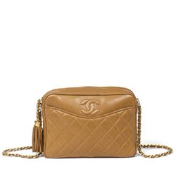 CHANEL Front Slip Pocket Camera Bag