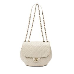 CHANEL Round Flap  Bag