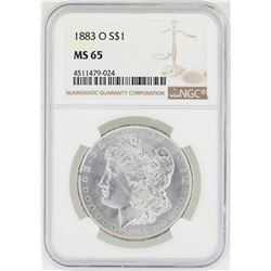 1883-O NGC MS 65 Morgan Silver Dollar