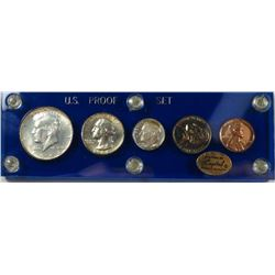 """1964 Frosted """"Cameo Type"""" Silver Proof Set"""