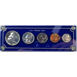 """1963 Frosted """"Cameo Type"""" Silver Proof Set"""