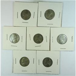 1943-S Jefferson Nickels