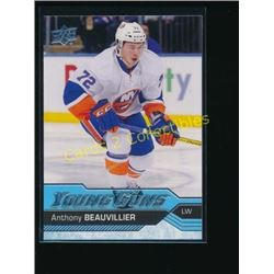 16-17 Upper Deck #220 Anthony Beauvillier YG RC