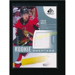 17-18 SP Game Used Rookie Sweaters Colin White
