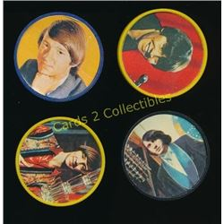 1967 The Monkees Kellogg's Coins Lot Of 4