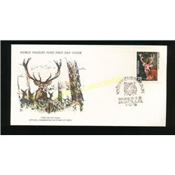 WWF First Day Cover India Deer