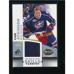 17-18 SP Game Used Skills Jersey Cam Atkinson